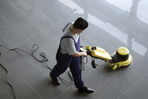 Hard-surface floor cleaning and maintenance - Octavian Security