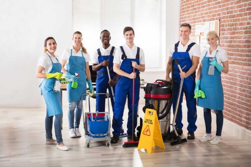 Office cleaning services - Octavian Security